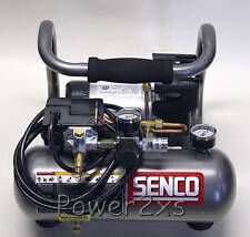 senco 1hp peak tragbarer kompressor-pc1010 * brandneu * (1/2 ps running)