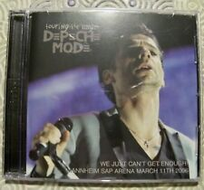 """DEPECHE MODE """"TOURING THE ANGEL MANNHEIM 2006 WE JUST CAN'T GET."""" DOUBLE CD LIVE"""