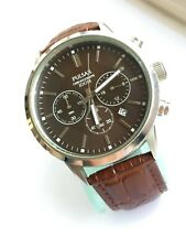 Pulsar by Seiko Mens VD53-X220 Chrono Sports Watch With Brown Leather Strap