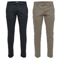 Only & Sons Mens Chino Trousers Regular Fit Cotton Stretch Jeans Casual Pants