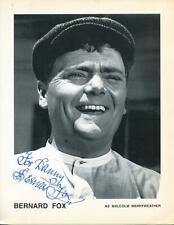 Bernard Fox Autograph Actor Bewitched The Andy Griffith Show Signed Photo