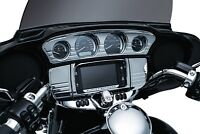 Kuryakyn 7283 Chrome Switch Panel Accent For 2014-2018 Harley Touring & Trike
