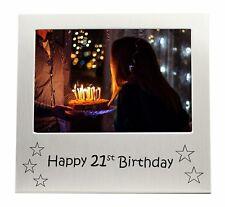 """Happy 21st Birthday Photo Frame - 5"""" x 3.5"""""""