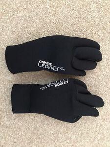 C-Skins Legend 3mm Neoprene Gloves Junior Small Kids Child Sea Surf Beach