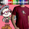 Hipster Disney Cute Minnie Mouse Disneyland Unisex Mens Tee Crew Neck T-Shirt