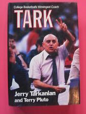 TARK by Jerry Tarkanian & Terry Pluto hardcover book 1988 UNLV RUNNING REBELS