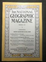 National Geographic Magazine - March 1925 -Europe-Spanish Morocco Africa Holland