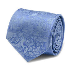 DC Comics Superman Comic Blue Mens Tie, Officially Licensed