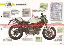 DUCATI 796 Monster 2010 Joe Bar Team Fiche Moto #001875