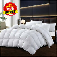 Extra Deep Microfiber Duvet 13.5 Tog Quilt Single Double King Luxury Bedding Set