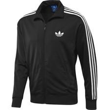 New Mens Original ADIDAS Black Jacket TRACKSUIT top UK size S