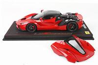 Ferrari LaFerrari 2013 OPEN Red-Carbon Roof 1/18 lim.ed.99  P1867OPEN BBR MODELS