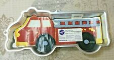 New Vintage Wilton Fire Truck Cake Pan With Decorating Instructions