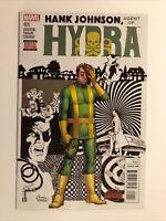 Marvel Comics Hank Johnson, Agent Of Hydra #1 Secret Wars 2015