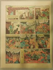 Superman Sunday Page #125 by Siegel & Shuster from 3/22/1942 Tab Size: Year #3