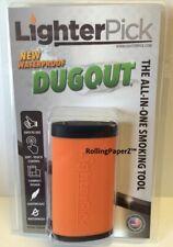 Waterproof Discreet Lighter Pick Odor-proof Dugout Keeps Tobacco Fresh Black