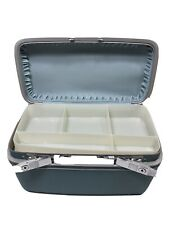Samsonite Silhouette Blue Train Case With Tray