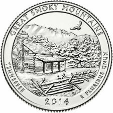 2014 D Great Smoky Mountains National Park - Tennessee - America the Beautiful