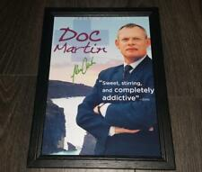 "DOC MARTIN PP SIGNED & FRAMED A4 12X8"" PHOTO POSTER MARTIN CLUNES"