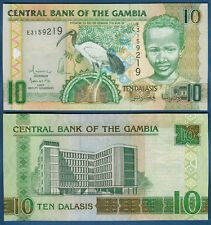 GAMBIA  10 Dalasis  (2006)  UNC  P.26 b