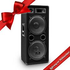 Passiv PA Lautsprecher Box Subwoofer Tieftöner Hochtöner 500W RMS 8 Ohm Stereo