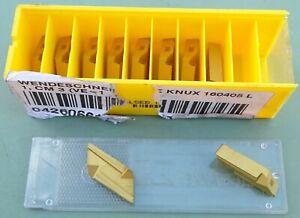 10 KENNAMETAL Wendeplatten KNUX 160405 L1 Wendeschneidplatten Schneidplatten WSP