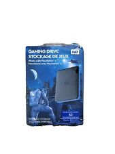 WD Gaming Drive 4TB External USB Hard Drive for PS4 Playstation (Brand New)