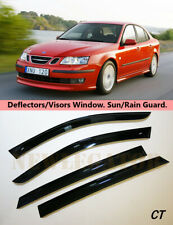 For Saab 9-3 ll Sd 2002-2014, Windows Visors Deflector Sun Rain Guard Vent