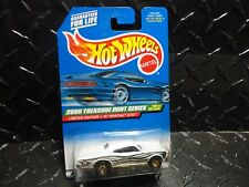 2000 Hot Wheels Treasure Hunt #58 White '67 Pontiac GTO w/RR's Thailand Base