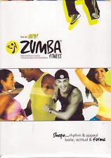 4 DVD BOX SET - ZUMBA FITNESS LATIN WORKOUT ROUTINE - English & Spanish Exercise