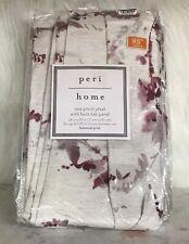 Peri Home Botanical Print Grommet Curtain Panel 28x95 Inch