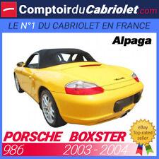 Capote Porsche Boxster type 986 cabriolet - Alpaga Twillfast