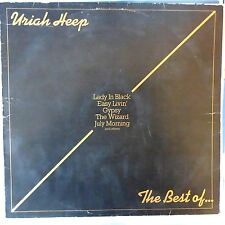 URIAH HEEP LP THE BEST OF 1975 GERMANY VG+/VG++ OIS