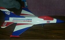 "Lockheed F-16 ""Fighting Falcon"" Pepsi Collector Series Die Cast Metal Bank"