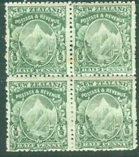 New Zealand. 1902. ?d. Mt. Cook. Block. MUH.