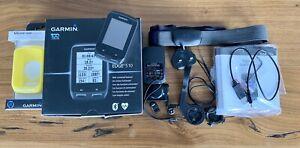 Garmin Edge 510 GPS Cycling Computer, Premium HRM, Speed Cadence Sensors