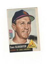 1953 Topps ENOS SLAUGHTER #41 St. Louis Cardinals VG