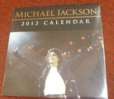 NEW Michael Jackson 2013 12 month calender SEALED! COLLECTIBLE PICTURES