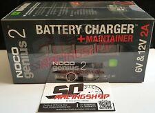 Noco Genius 2A Eu Mantenedor Cargador Batería de Litio Gel Ácido 6/12V Ex G1100