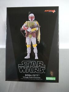 Star Wars Episode V Boba Fett Vintage Color Exclusive 19 CM Kotobukiya Kbs