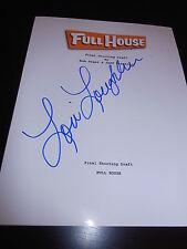 Lori Loughlin Unterzeichnet Autogramm Full House Schriftzug TV Olsens Persönlich