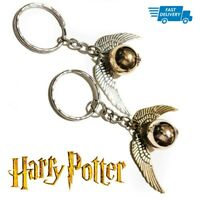 3 for 2 SALE! Harry Potter GOLDEN SNITCH Key ring Party Bag Charm Ball Wings HP