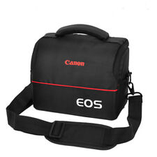Canon Camera Bag Case For EOS 5D4 M5 M6 M3 Rebel T5 T6 SL1 Strap+Belt+Rain Cover