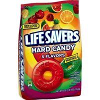 1 Lifesavers Hard Candy 5 FLAVORS Candy Life Savers 50 oz. Bag