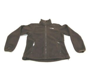 The North Face Jacket Brown Pumori Fleece Full Zip Pockets Zip Womens Size Small