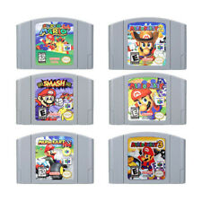 N64 Mario Kart Super Mario 64 Party 123 Video Game Card Cartridge US Version