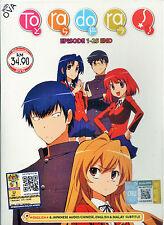 DVD Toradora! Complete Anime Series English Dubbed 25 Episodes