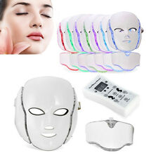 PDT Photodynamic LED Photon Face Neck Mask Anti Wrinkles Skin Beauty Care Salon