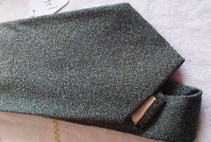 100% Wool Paul Stuart Loden Green tie NWOT
