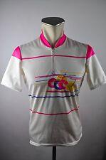 Gonso vintage Radtrikot cycling jersey maglia Rad Trikot 90er Gr. M BW 52cm Z11